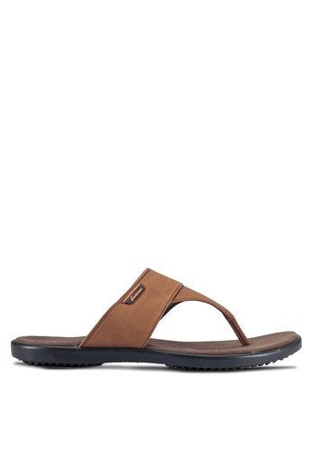 Louis Cuppers brown Casual Sandals LO977SH0RF83MY_1
