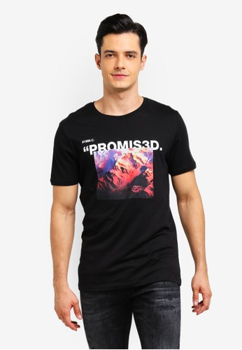 Jack & Jones black Cocondi T-Shirt 9991EAAC8939DDGS_1