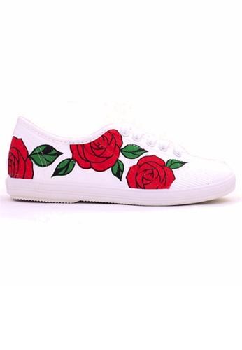 Crystal Korea Fashion 紅色 韓國制春夏新款平底輕便鞋 0C799SH4BF90BCGS_1