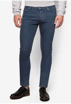 彈性窄管牛仔褲