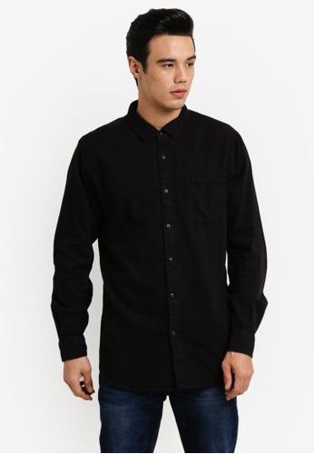 Cotton On black 91 Shirt CO372AA13JQOMY_1