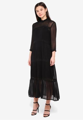 MbyM black Bucke Dress DDC5DAAF5DF152GS_1