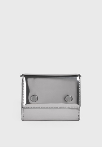 Tocco Toscano silver Holly III Bifold Cardholder (Pewter) A296DACBD8BB87GS_1