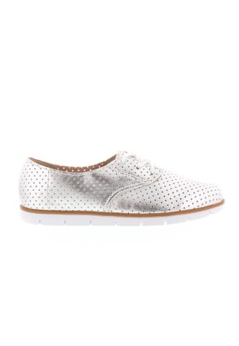 Beira Rio silver Laced Semi Formal Metallic Silver Sneaker BE995SH51XEEHK_1