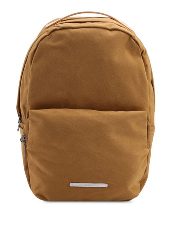 "Rawrow brown Wax 222 Cotna 15"" Backpack 0A75BAC2DC5F8CGS_1"