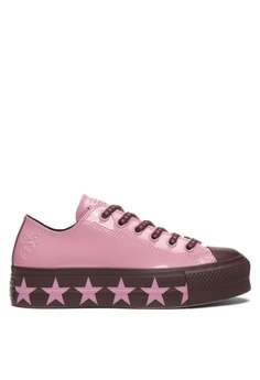 8793cdefdf5c40 Converse. Converse X Miley Cyrus Chuck Taylor All Star Lift Stars Inspired  Ox Sneakers