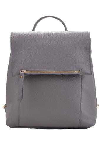 Vince grey Korean Designed Elegant Backpack ( Grey ) VI456AC83VGAMY_1