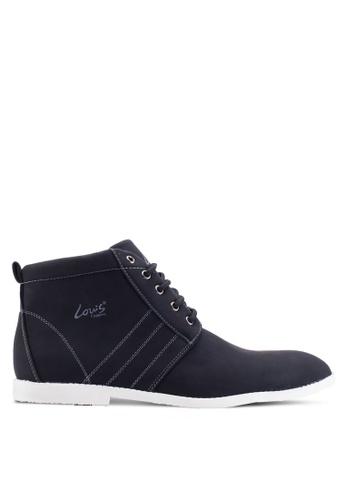 Louis Cuppers black High Top Sneakers LO977SH92ZJFMY_1