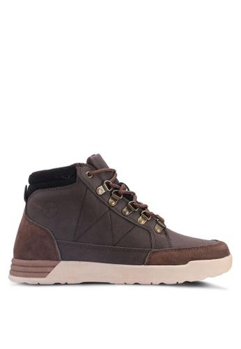 Weinbrenner brown Hi Cut Boots 9ADA8SH9B09AEFGS_1