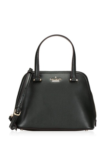 Kate Spade black Kate Spade Patterson Drive Small Dome Satchel Bag - Black 2D50CAC842D8E3GS_1