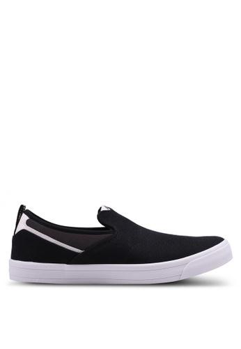 New Balance black and white ASM 101 Lifestyle Slip-Ons 23D8CSHE5CC27BGS_1