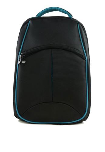 雙色結構筆電後zalora 衣服評價背包, 包, 男包