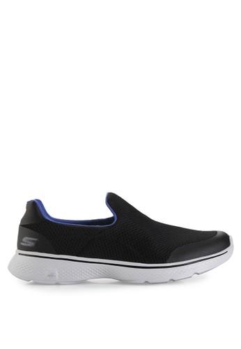 Skechers black and blue Go Walk 4 SK173SH22ZSJID 1 a3c021fde0e6
