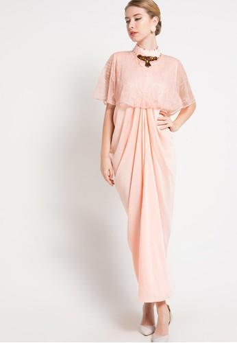 LUIRE by Raden Sirait orange Dress LU460AA60LADID_1