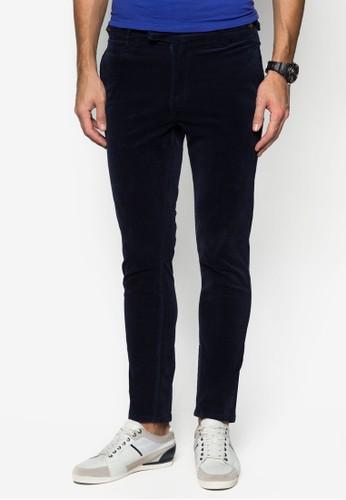 Diesprit衣服目錄lla 燈芯絨貼身長褲, 服飾, 牛仔褲