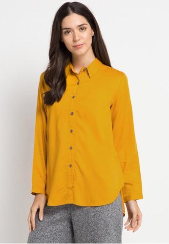 GEELA yellow Carina Shirt 4C94FAABAC0D04GS_1