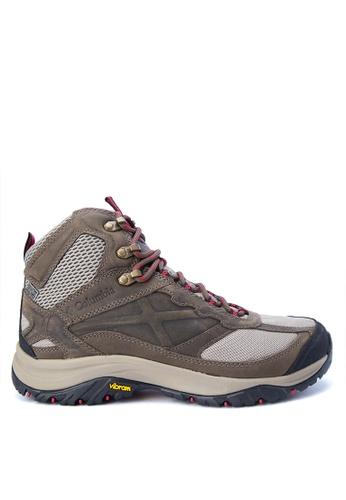 Columbia brown Terrebonne Mid Outdry Men's Shoes   CO143SH0KDEUPH_1