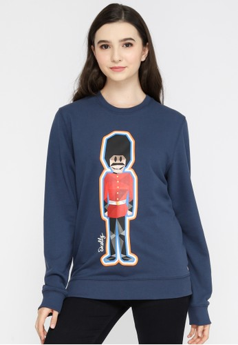 Skelly blue Skelly Ladies TCG Glow Pullover In Blue FBF20AA41579A4GS_1