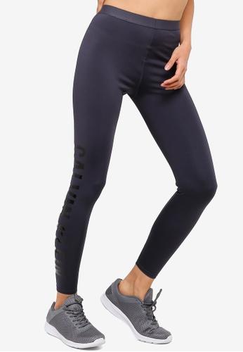 cba44d6f42ac5c Calvin Klein grey Side Logo 7/8 Leggings - Calvin Klein Performance  A893CAAD2EFCF4GS_1