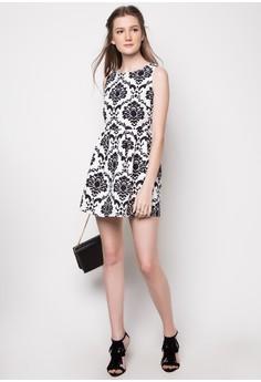 Ayana Printed Sleeveless Dress