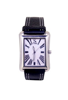 Swiss Design Unisex Steel Leather Watch Casual Classic Wristwatch