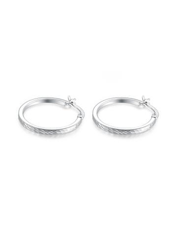 Mblife Silver 925 Sterling Hoop Earrings 1 76f38acd7952b1gs