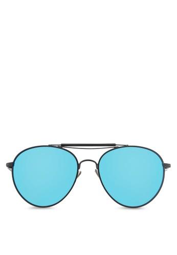 雙鏡橋經典飛行員太陽眼鏡, 飾品配件, esprit台灣飛行員框