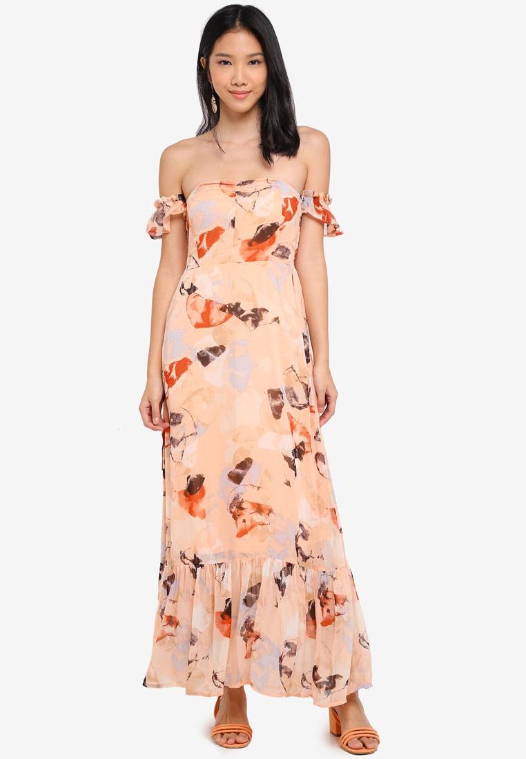 Apricot Y Dress Opal Almost Yasopal S A Midi x8E6EHqY