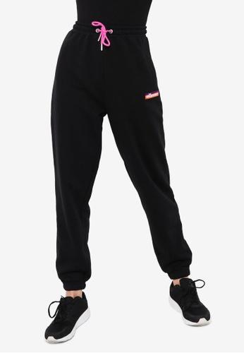 Ellesse black Elhip Jog Pants FC341AA03F3E28GS_1