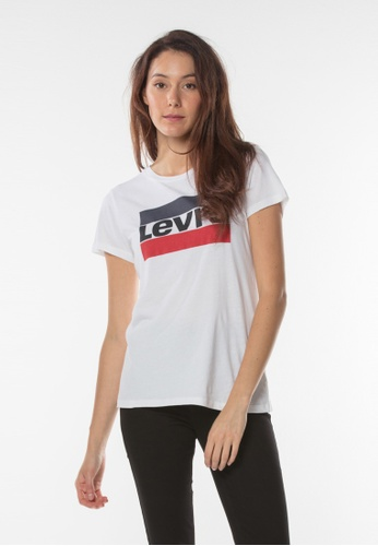 Levi's white Levis® The Perfect Graphic Tee F1ED6AA42957F5GS_1