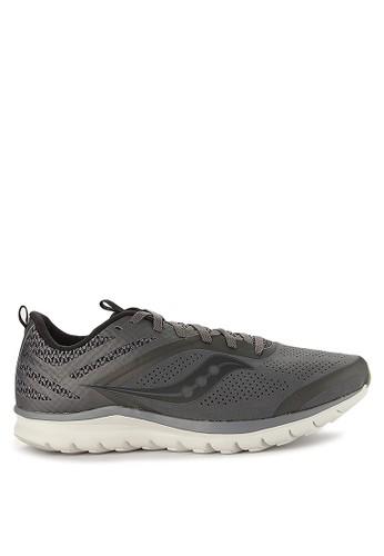 Saucony grey Liteform Miles C9A4CSH26745A5GS_1