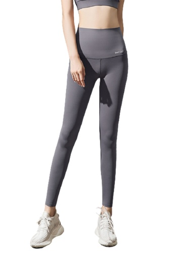 Trendyshop grey High-Elastic Fitness Leggings EDABEUSD50B417GS_1