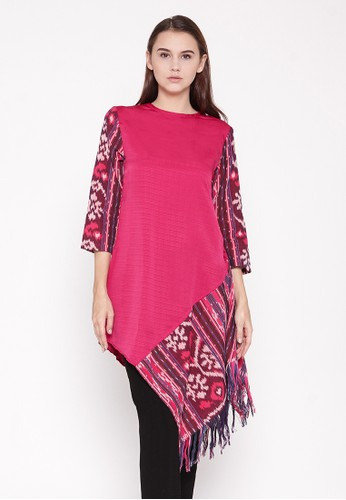 Batik Etniq Craft Naina Asymmetric Blouse