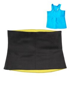Hot Shapers Belly with FREE Hot Shapers Colors Thermal Sando