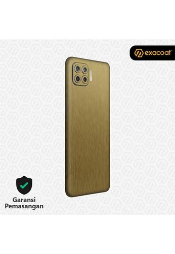 Exacoat Oppo Reno 4F 3M Skins Titanium Series - Titanium Gold 55FCFESADF21ECGS_1