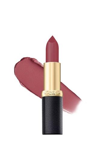 Buy Loréal Paris Loréal Paris Color Riche Matte Lipstick 247