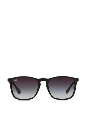 Ray-Ban Chris RB4187 Sunglasses RA370GL27SEQSG_1