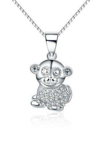 LYCKA silver LPP88096 S925 Silver Necklace 77B8FACCD92472GS_1