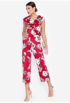 5e2c8888bc4eed Psst... we have already received your request. Ashley Collection. Ruffled  Top   Pants Set