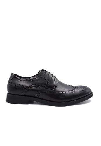 Goldlion black Goldlion Premium Brogue Shoes in Black (HSH301TG92B-99) BC650SH3E3C74FGS_1