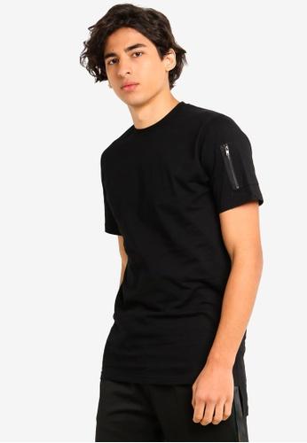 Flesh IMP 黑色 品牌刺繡T恤 A2ADAAA154DEB1GS_1