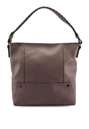 2debfa318eb1 Buy Dorothy Perkins Grey Scallop Strap Hobo Bag Online on ZALORA ...
