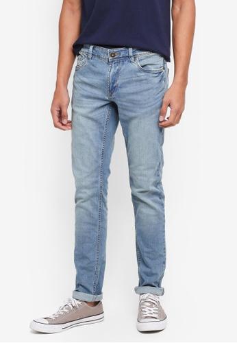 OVS blue Slim Fit Denim Jeans 479C8AA8977B90GS_1