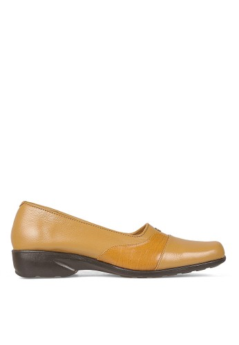 Cbr Six Women Bussiness Formal Shoes 817 (Tan)