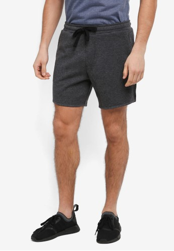 Cotton On grey Coar Performance Double Knit Shorts E739AAA5EC6AD9GS_1
