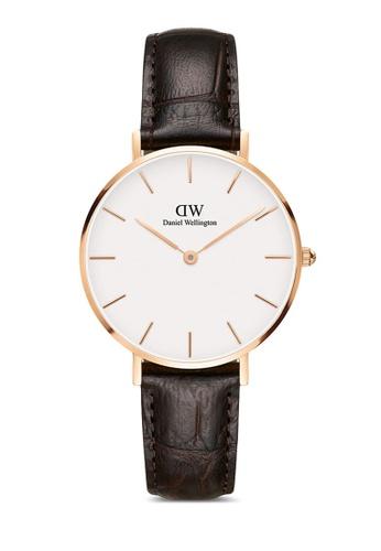 Daniel Wellington gold Petite York 32mm Rose Gold Watch 942C0AC9BE67D4GS_1