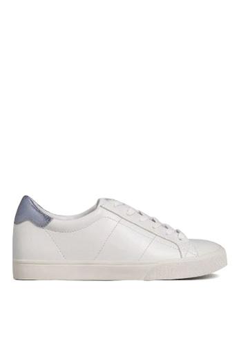 Mango white Contrast Applique Sneakers 97610SH0E9CD94GS_1