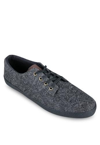 仿皮鞋帶毛氈運動鞋, 鞋, zalora 泳衣休閒鞋