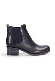 8a341e4e60b Shu Talk black Amaztep comfortable Leather Mid Calf Boots D4B3BSHF76CCE9GS 1
