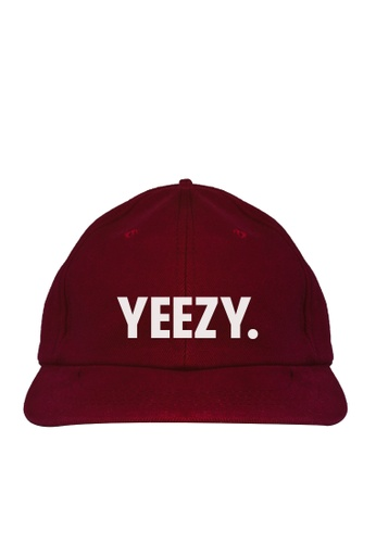 HYPE MNL red Yeezy Baseball Cap 47AD3ACB2F46A5GS_1